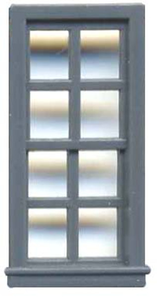 27″ X 64″ DOUBLE HUNG WINDOW 8 PANE