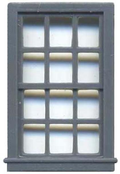 36″ X 64″ DOUBLE HUNG WINDOW 12 PANE
