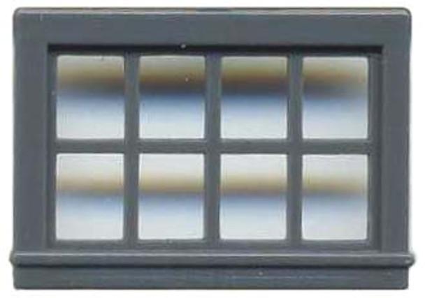 52″ X 33″ DOUBLE HUNG WINDOW 8 PANE