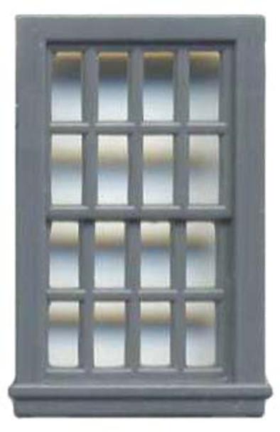 36″ X 56″ DBL HUNG WINDOW 16 PANE