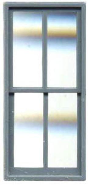 FACTORY WINDOW 44″ X 92″ DOUBLE HUNG 4 PANE (Masonry)