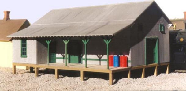 Raised Platform Warehouse