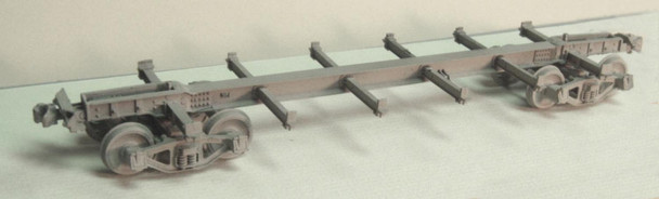 BETTENDORF STEEL UNDERFRAME FOR C&S-RGS /WP&Y BOX, STOCK, REEFERS AND FLAT CARS–On3