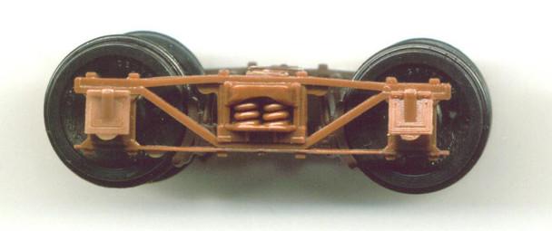 NARROW GAUGE ARCHBAR TRUCK-4'8″WB-BROWN DELRIN ®