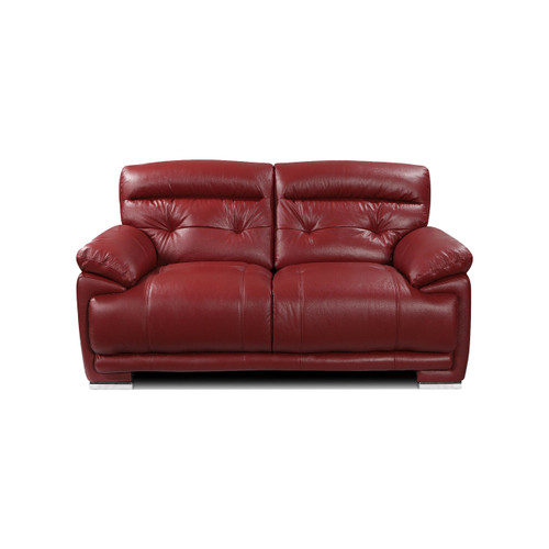 VOLASTRA Genuine Italian Cowhide Real Leather 2 Seater