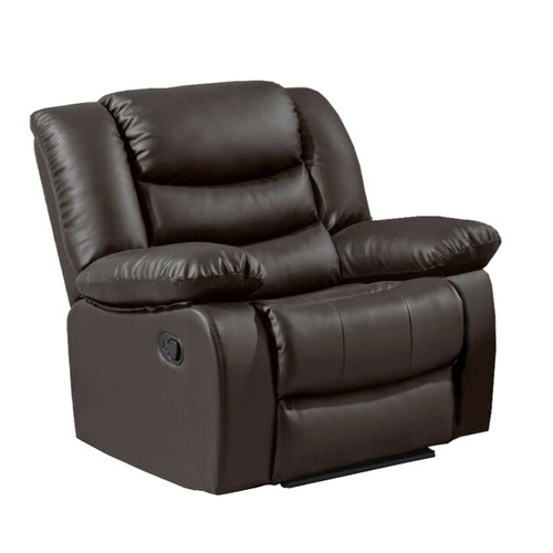 LOTHIAN Fully-Reclining LazyBoy Leather Recliner Armchair