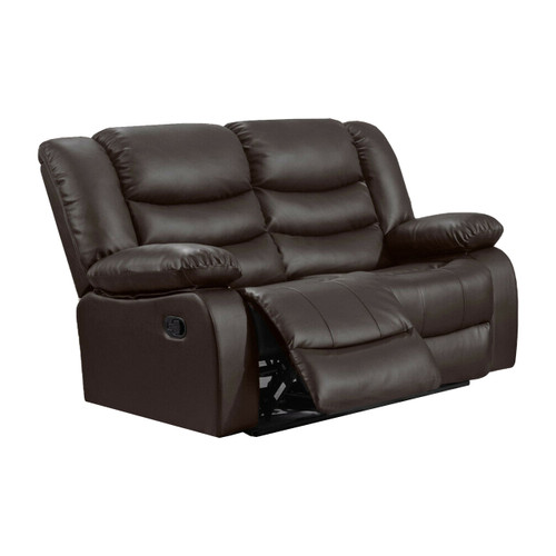 LOTHIAN Fully-Reclining LazyBoy Leather Recliner 2 Seater