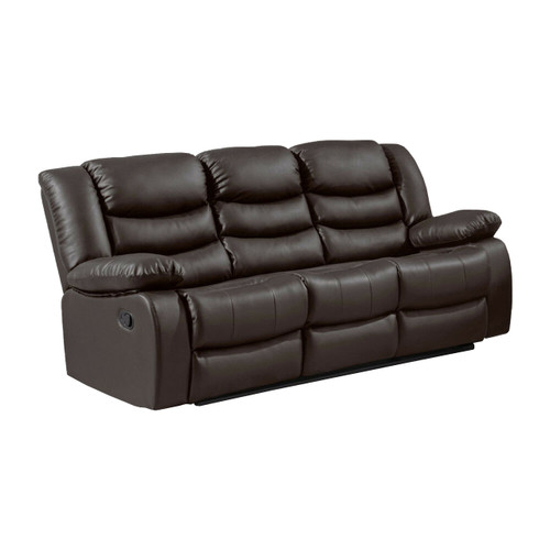 LOTHIAN Fully-Reclining LazyBoy Leather Recliner 3 Seater