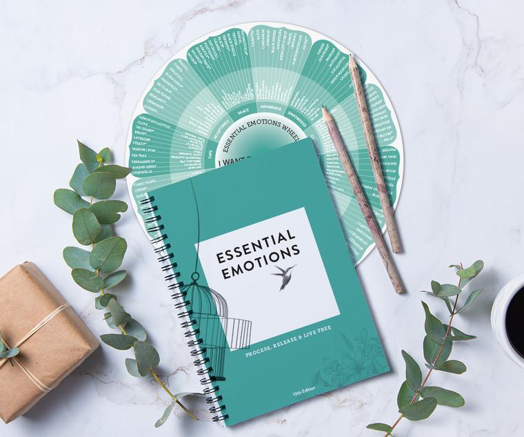 Essential Emotions Book & Wheel, 10TH EDITIONS
