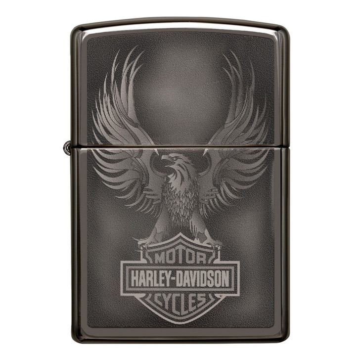 Harley-Davidson® Black Ice Eagle Logo