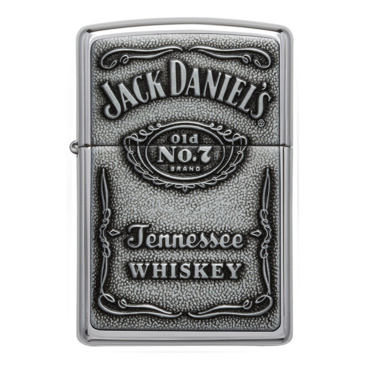 Jack Daniel's® Emblem - High Polish Chrome