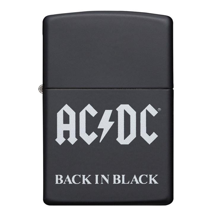 AC/DC Back in Black Black Matte