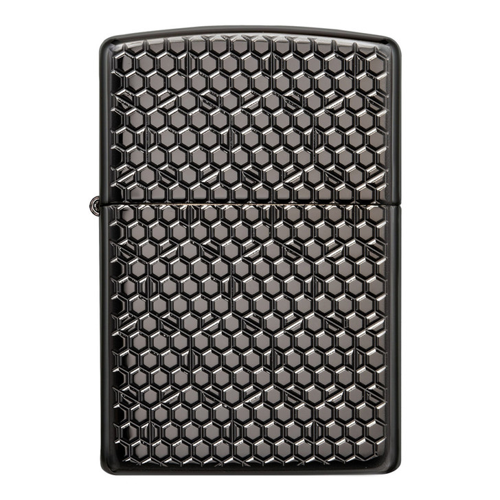 Zippo™ Honeycomb Armour Black Ice