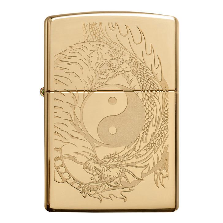 Zippo Ying Yang HP Brass