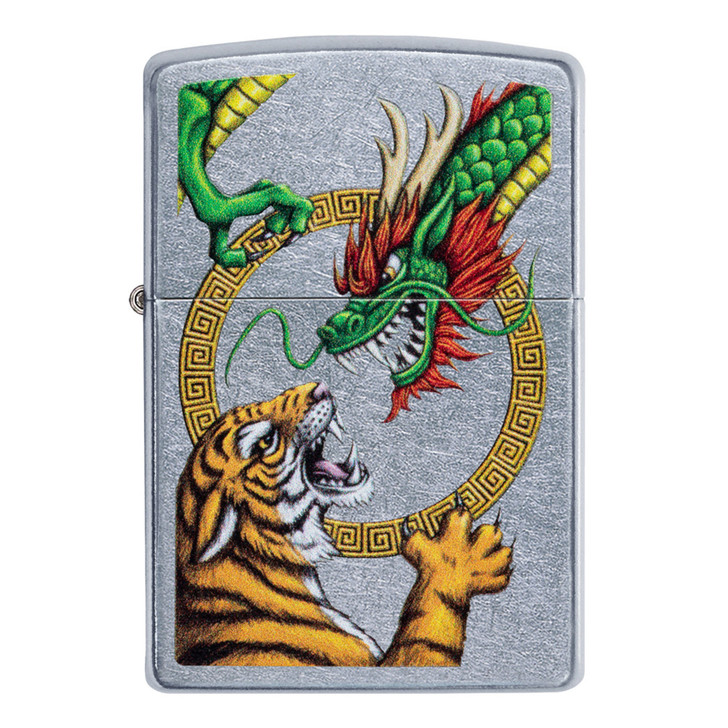 Street Chrome Tiger vs Dragon