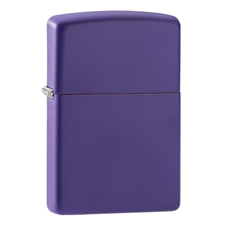 Zippo Purple Matte