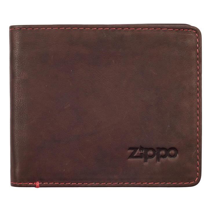 Bi-Fold Wallet Brown 2 Cards