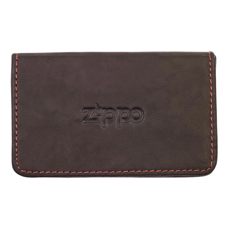 Business Card Holder Brown