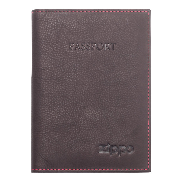 Passport Holder Brown