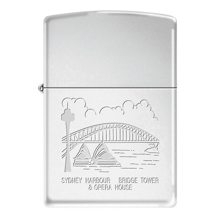 Sydney Harbour - High Polish Chrome