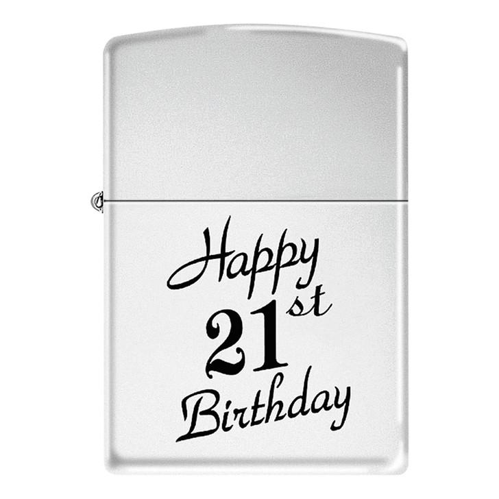 Happy 21st - High Polish Chrome
