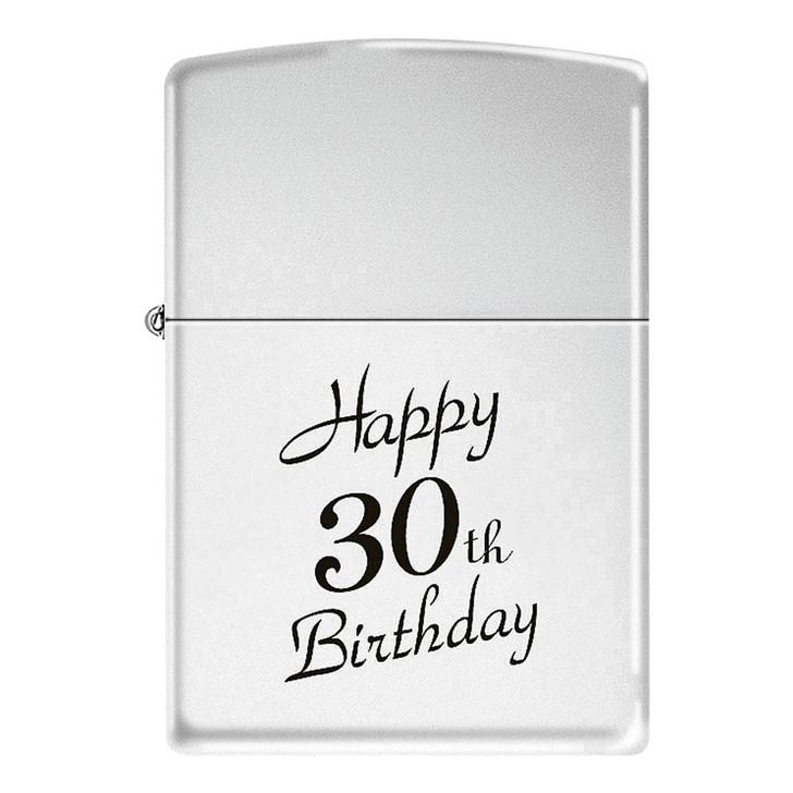 Happy 30th - High Polish Chrome