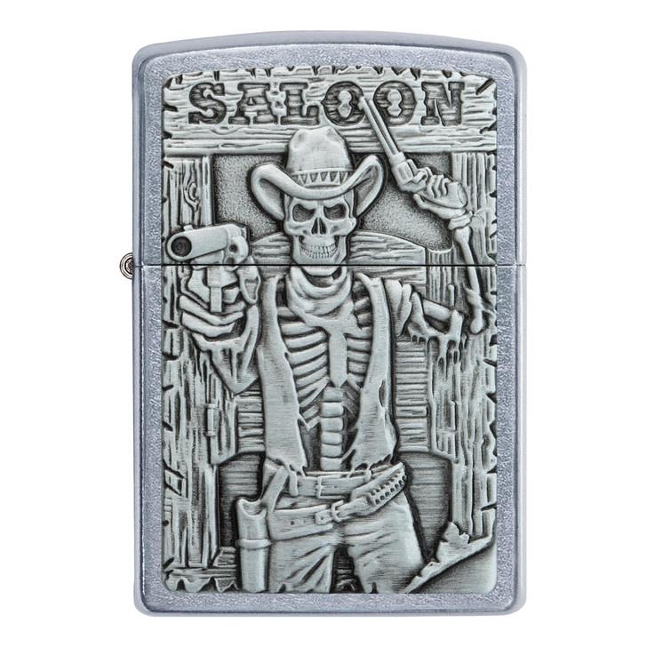 Skeleton Saloon Street Chrome