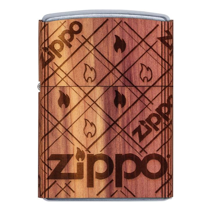 Zippo Woodchuck Zippo Cedar Emblem