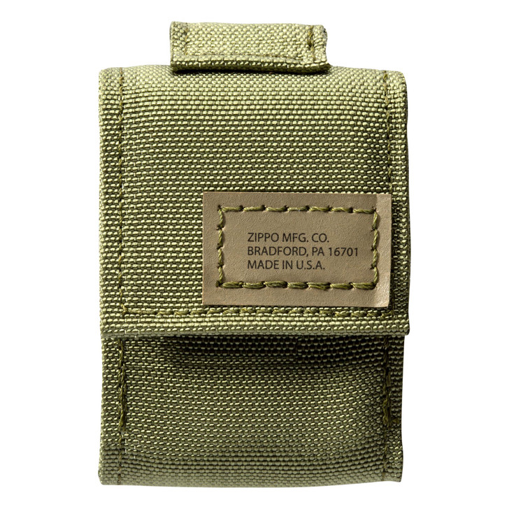 Zippo OD Green Pouch and Black Crackle®, Gift Set