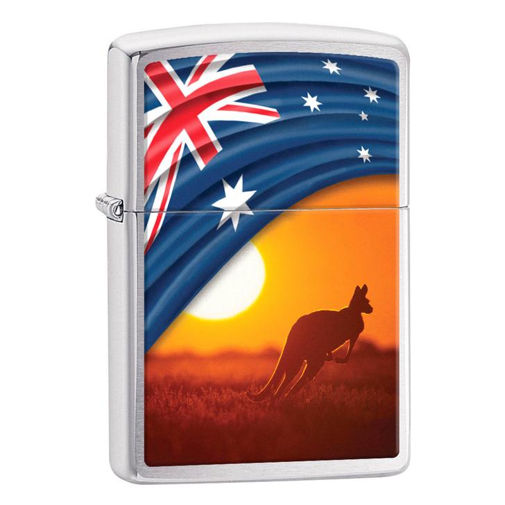 Flag & Landscape Kangaroo