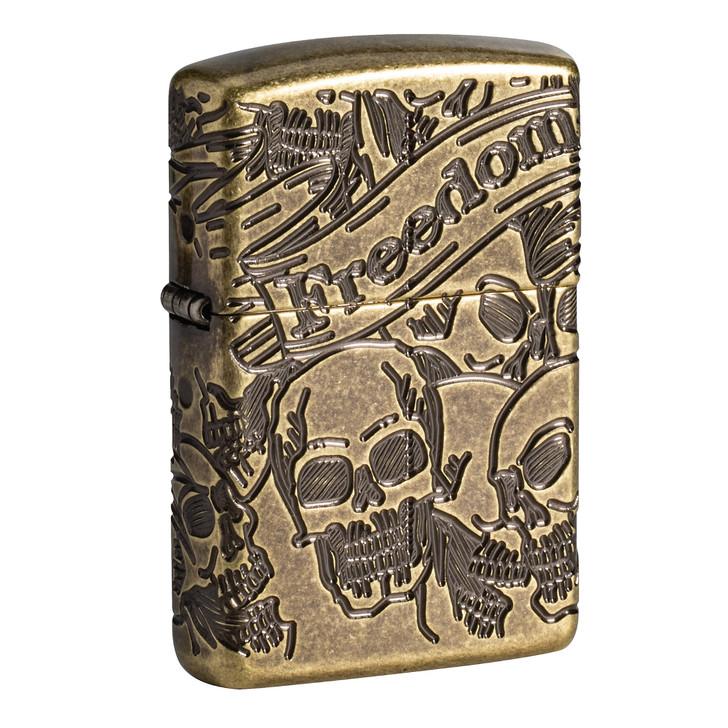 Freedom Skull Design