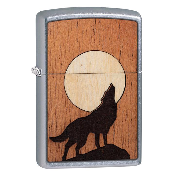 Woodchuck Wolf w/ Moon Inlay