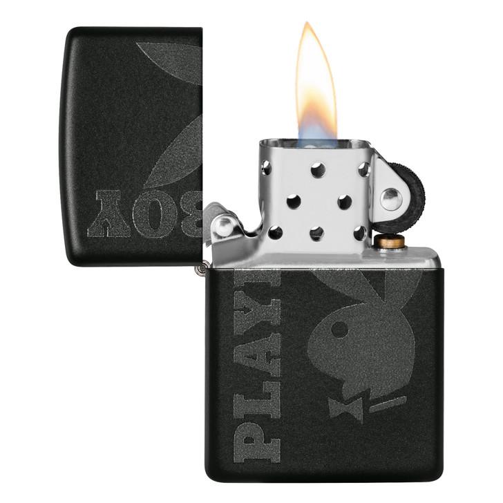Playboy logo Black Matte