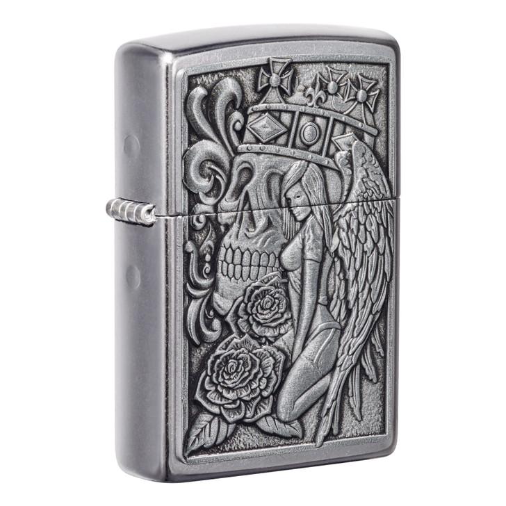 Skull and Angel Emblem Design