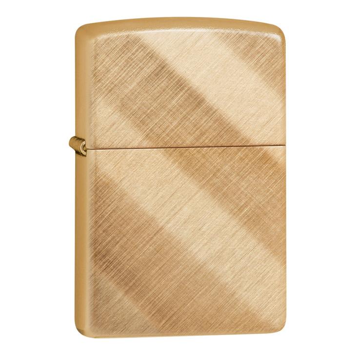 Diagonal Weave Brass