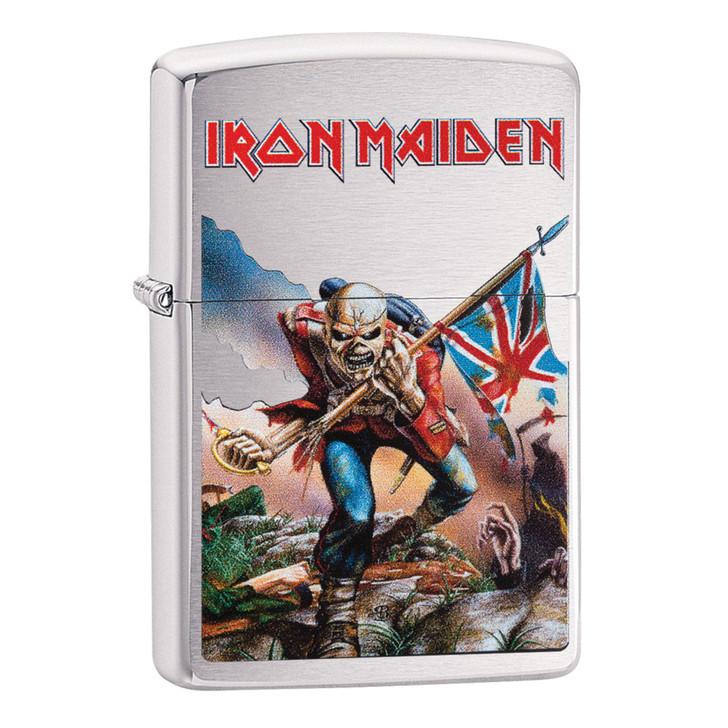 Brushed Chrome Iron Maiden