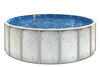 12'x48' Santa Clara Family Style Round Above Ground Swimming Pool. Includes Heavy 20 Gauge Pool Liner