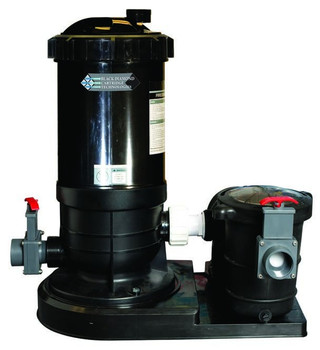Black Diamond 60 Cartridge Filter System With 1HP Energy Efficient 2 Speed Pump