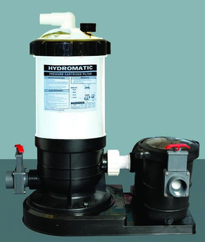 HydroMax 50 Auto-Regen DE Filter System WITH 3/4 HP Pool Pump