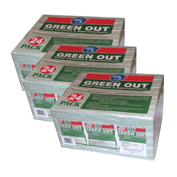 72 Pk Green Out Premium Pool Shock 72 - 1 Lb Bags