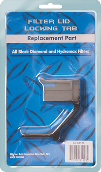 Black Diamond & Hydromatic Filter Lid Locking Tab