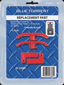 BD T-handle & Lock 2 Pack Fits AC 26859 Universal Slide Valve