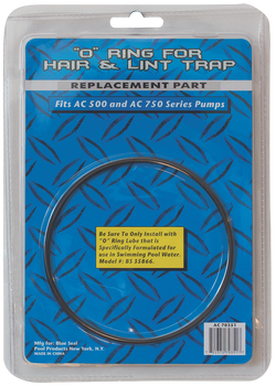 Blue Torrent Hair and Lint  O Ring Replacement For AC 500 AC 750