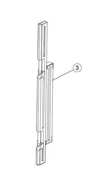 Latch Post for BS Universal Gate System