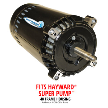 Hayward Super Pump Replacement Motor and Blue Torrent IMP 48 Frame Pumps