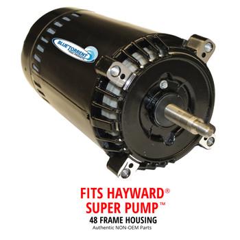 Hayward Super Pump Replacement Motor and Blue Torrent IMP 48 Frame Pumps