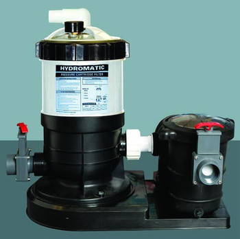 HydroMax 40 Auto-Regen DE Filter System With 3/4 Pump