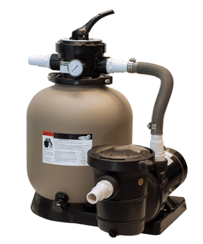 Great White Sand Filter System with 1 HP Blue Torrent Pump