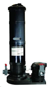 Black Diamond 150 Cartridge Filter Tank with Lifetime Warranty - Tank Only