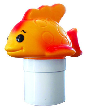 Goldie the Goldfish Floating Chlorinator